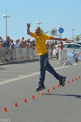 ROOL - Ken Chalot - Démonstration de slalom Freestyle