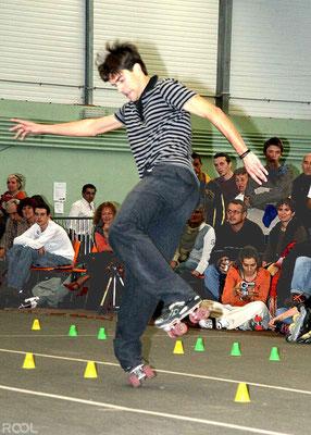 ROOL - Fred Feyt - Slalom en compétition