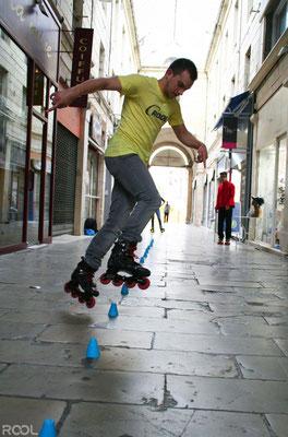 ROOL - Jérémy Gélineau - Slalomer en ville