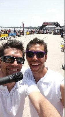 Rool - Pierre Célat et Fred Feyt speaker Championnat de France Freestyle