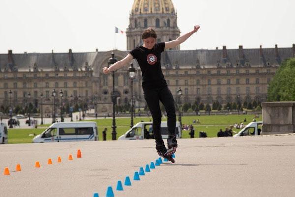Rool - Salomé Pham Van Hué Slalom à Paris