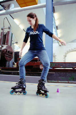 ROOL - Emilie Mignano - Session roller Freestyle