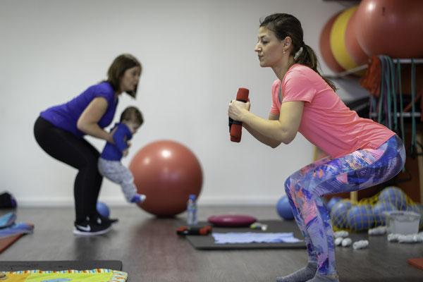 Fitness mit Baby