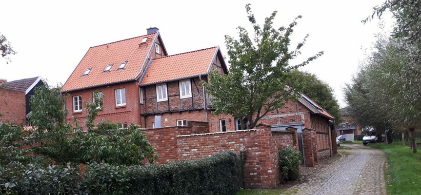 Gasse in Boizenburg