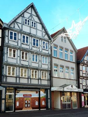 Häuser in der Lüneburger Straße
