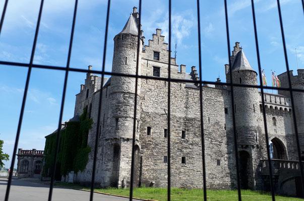 Die Burg wird restauriert