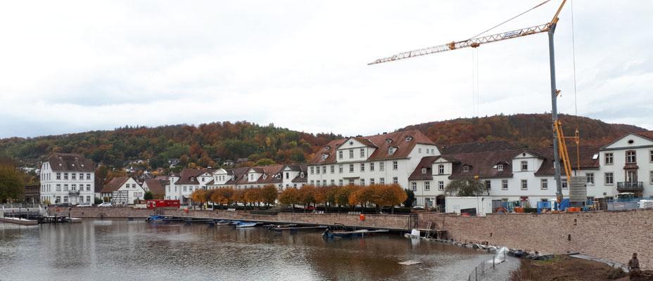 Der Barockhafen in Bad Karlshafen