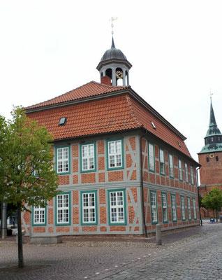 Am Marktplatz in Boizenburg