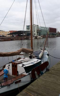 Hier beginnt das Schaufenster Fischereihafen