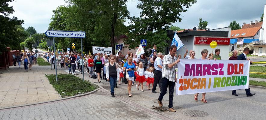Wahrscheinlich eine Demo gegen Abtreibung