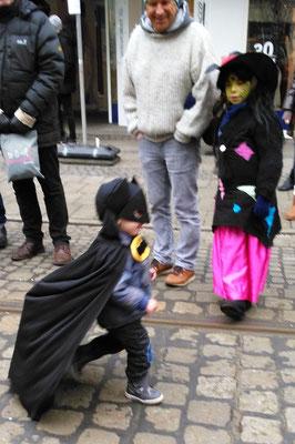 Batman war nicht aufzuhalten