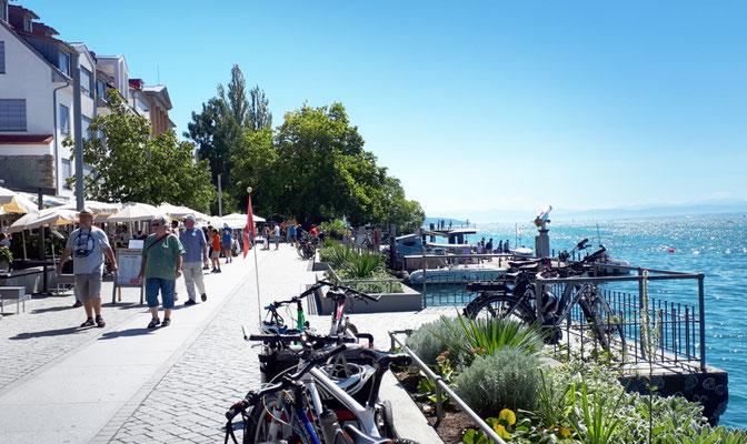 Seepromenade am Landungsplatz