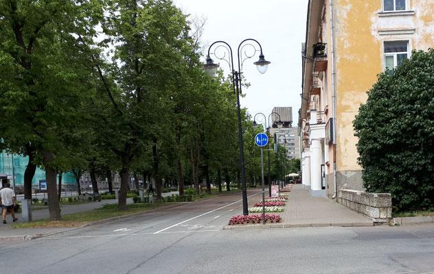 Innenstadt von Narva