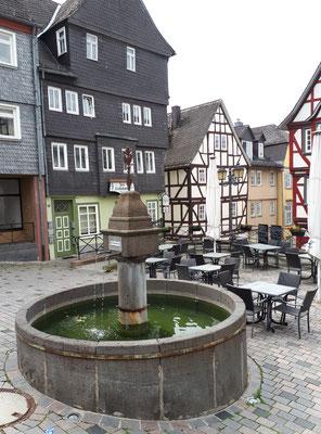 Brunnen auf dem Kornmarkt