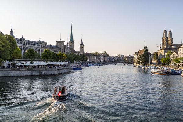 Alle Kirchen auf einen Blick, © Zürich Tourismus