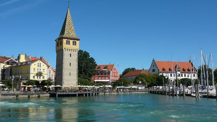 Der Mangturm am Hafen