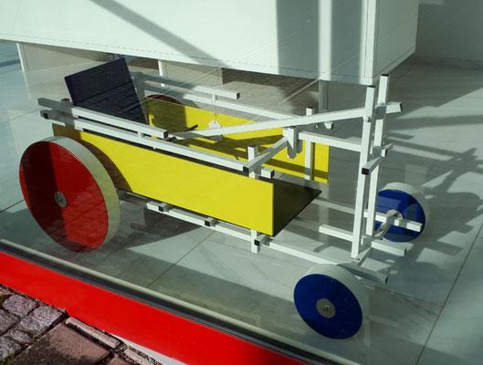 auch der Bollerwagen ist eine Design-Ikone