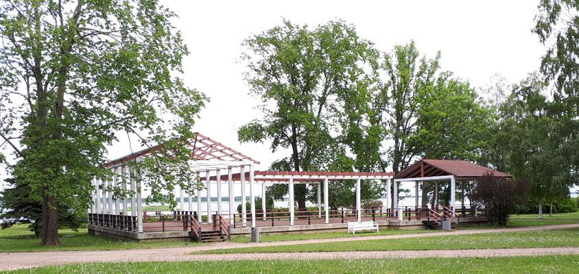 Tanzhalle an der Promenade, noch nicht eröffnet