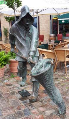 Skulptur für die Hafffischer