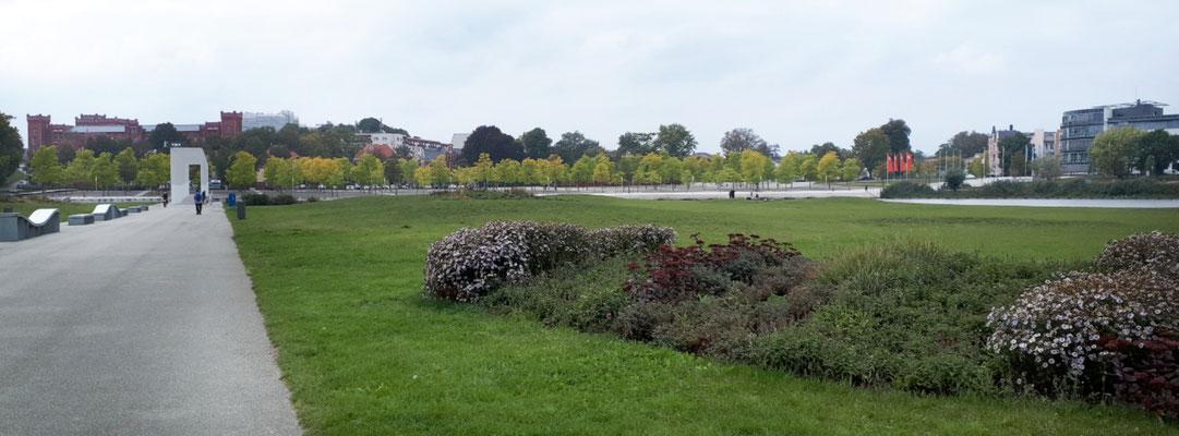 Schlosspark, Teil der BUGA