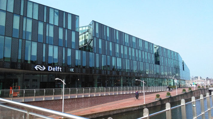 Der Bahnhof von Delft