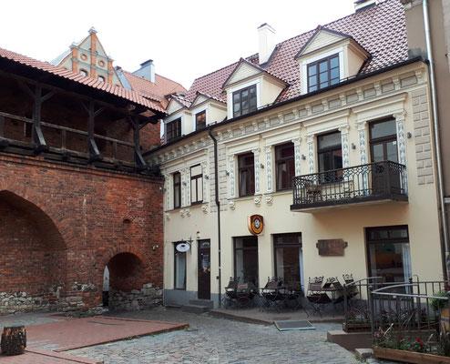 Teil der alten Stadtmauer