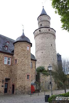 Am Schloss, der Hexenturm