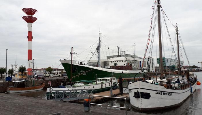 Die Gera, ein Museumsschiff über die Hochseefischerei