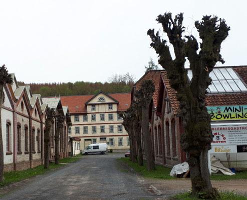 Industriedenkmal Eulenburg, ehemalige Wollwarenfabrik Greve & Uhl