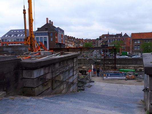 Eine wichtige Brücke über die Schilde inmdie Altstadt wird neu gebaut