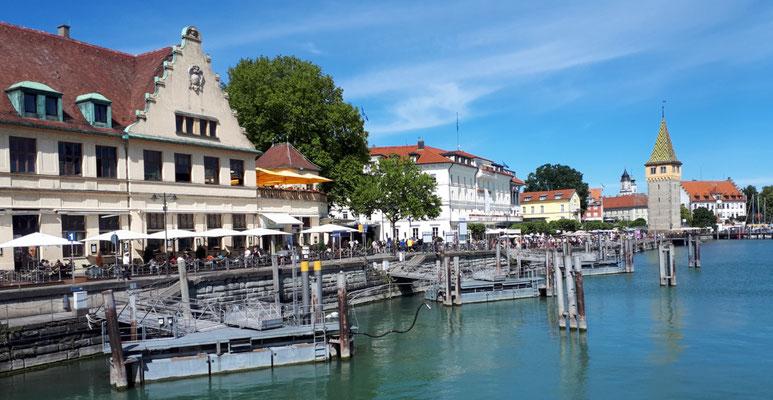 Lindau, am Hafen