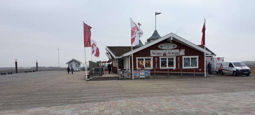 Gosch, erste Lage an der Seepromenade