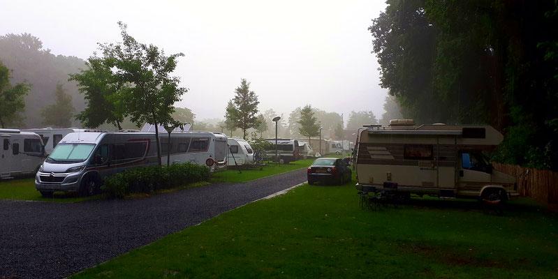 Am Donnerstagmorgen (31.05.) ein kleines Gewitter