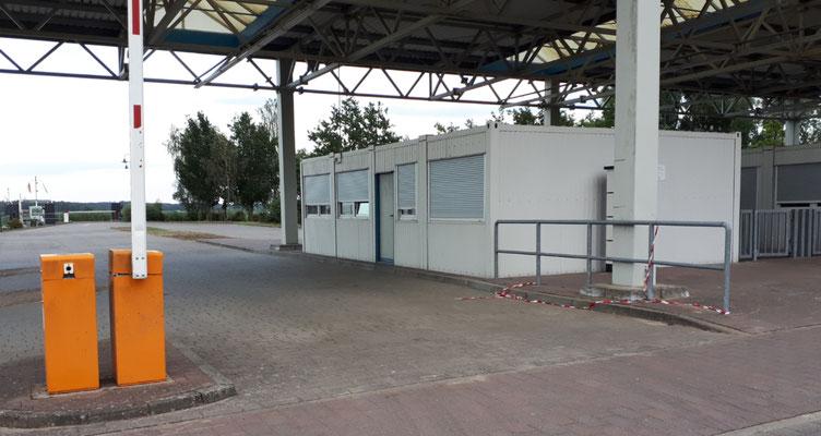 Ehemalige Grenzkontrolle und Zollgebäude