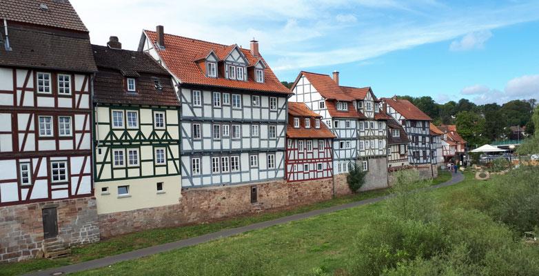 Häuser an der Fulda