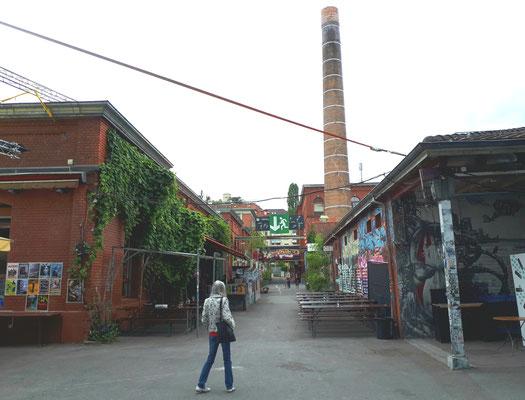 Alternative Szene, die Rote Fabrik