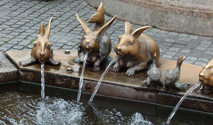 Brunnen mit Seehasen @Konstanz Tourismus