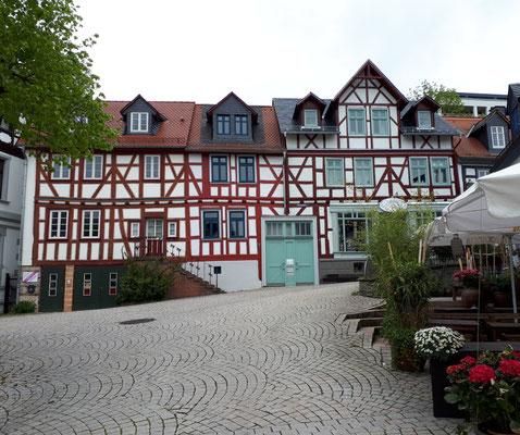 Marktplatz, Häuserensemble aus dem 18. Jahrhundert
