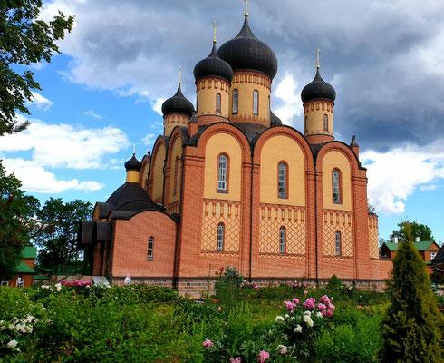 Kloster auf der Strecke