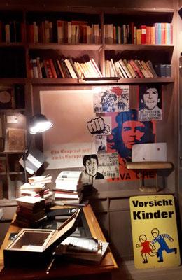 Ein altes Antiquariat, die politische Landschaft in Deutschland wandelt sich