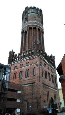 der Wasserturm (mit Aufzug)