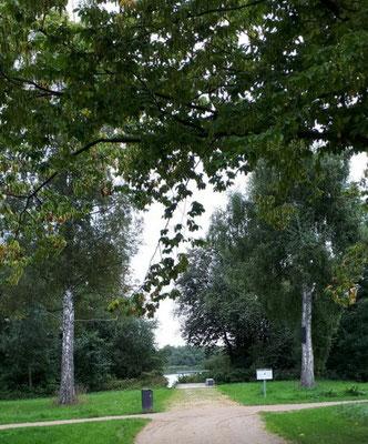 Im Seepark, Blickachse zum Eutiner See