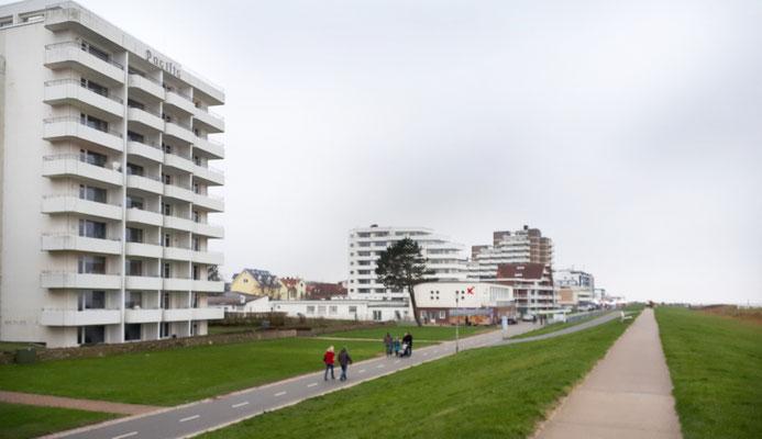 Strandpromenade bei Duhnen, in Beton gegossene Einfaltslosigkeit