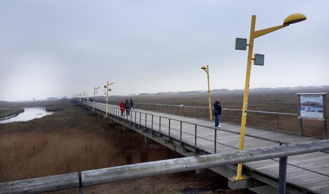Anfang der Seebrücke
