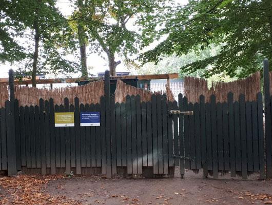 Die Seebühne, derzeit geschlossen