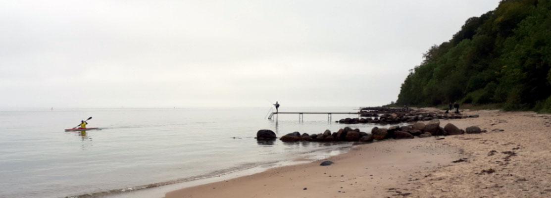 Noch einmal am Strand
