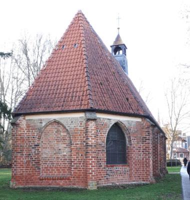 Gertruden-Kapelle an der Stadtmauer