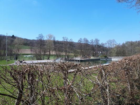 Bistro am Naturbadesee in Lauenberg