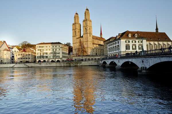 Grossmünster, © Zürich Tourismus