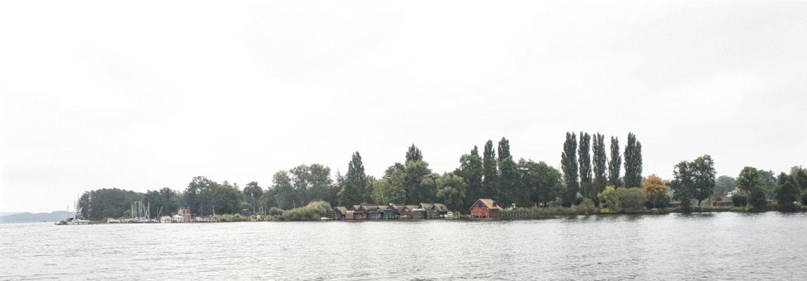 Bootshäuser gegenüber vom Schloss